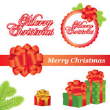 Vector Christmas elements Royalty Free Stock Photo