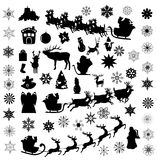 Vector Christmas Elements Stock Image