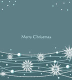 Vector Christmas festive background Royalty Free Stock Images