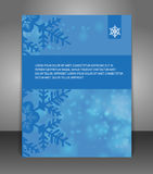 Vector Christmas Flyer poster Royalty Free Stock Photography