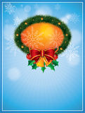 Vector Christmas Frame Stock Photo