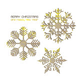 Vector christmas gift card stock images