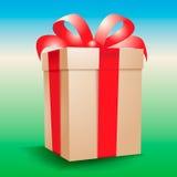 Vector christmas gift Stock Photos