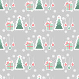Vector christmas greeting background Stock Image