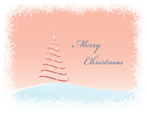 Vector Christmas greeting card Stock Photos