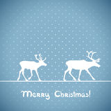 Vector christmas greeting card. Royalty Free Stock Photos