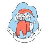 Vector Christmas Greeting Card Stock Photos