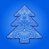 Vector christmas greeting card. Royalty Free Stock Photo