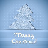 Vector christmas greeting card. Royalty Free Stock Photos