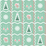 Vector christmas greeting ongoing background Royalty Free Stock Photography