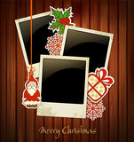 Vector Christmas holiday background vector illustration