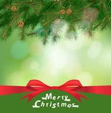 Vector christmas holiday background Royalty Free Stock Image