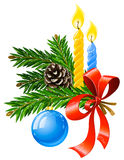 Vector christmas holiday decoration Royalty Free Stock Photography