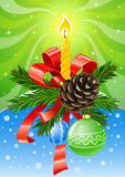 Vector christmas holiday decoration Stock Images