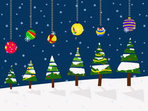Vector christmas holiday festival best wishes balloon concept Royalty Free Stock Photography