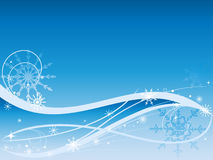 Vector christmas horizontal background Royalty Free Stock Photos