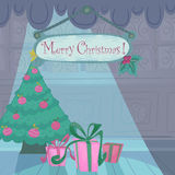 Vector Christmas illustration Royalty Free Stock Images