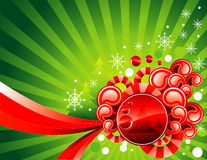 Vector christmas illustration Royalty Free Stock Image