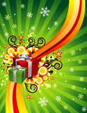 Vector christmas illustration Royalty Free Stock Photos