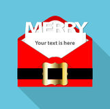 Vector of Christmas mail Stock Photos