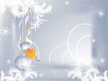 Vector Christmas or New year background Royalty Free Stock Images