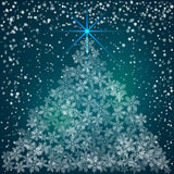 Vector Christmas and New Year Background with Royalty Free Stock Photo