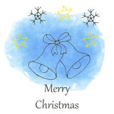 Vector Christmas and new year hand drawn icon Royalty Free Stock Images