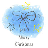 Vector Christmas and new year hand drawn icon Stock Image