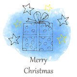 Vector Christmas and new year hand drawn icon Stock Photos