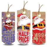 Vector christmas and new year tags Stock Photography