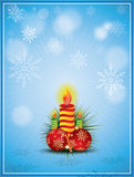 Vector Christmas Ornament. Vector Illustrator, be able to scale to any size without loss resolution stock illustration