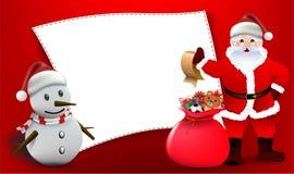 Merry Christmas! Happy Christmas companions. Vector Christmas Party design template. Vector illustration, Merry Christmas! Happy Christmas companions Stock Image
