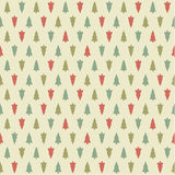 Vector Christmas pattern. Colorfuly xmas seamles texture. Stock Photography