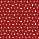 Vector Christmas pattern. Colorfuly xmas seamles texture. Royalty Free Stock Images