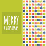 Vector Christmas pattern. Stock Photos