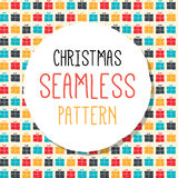 Vector Christmas pattern. Stock Images