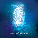 Vector christmas postcard design Stock Photography