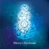 Vector christmas postcard design Stock Photo