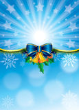 Vector Christmas Poster Royalty Free Stock Photography
