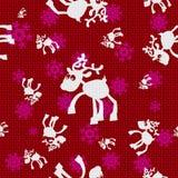 Vector Christmas Reindeers. Vector Christmas Background with Reindeers Stock Image