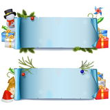 Vector Christmas Rolls Royalty Free Stock Photography