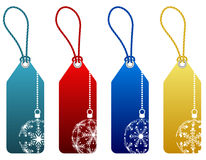 Vector christmas sale tags Royalty Free Stock Photography