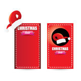 Vector Christmas sales tag or label Stock Photo