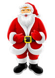 Vector Christmas Santa Claus Stock Photo