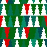 Vector Christmas seamless pattern with chrismas Royalty Free Stock Image