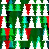 Vector Christmas seamless pattern with chrismas Royalty Free Stock Photography