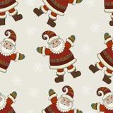 Vector Christmas seamless pattern. Xmas seamless Royalty Free Stock Image