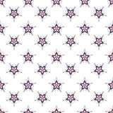 Vector christmas seamless patterns for xmas cards and gift wrapping Royalty Free Stock Photo