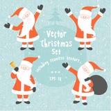Vector Christmas Set Stock Photography