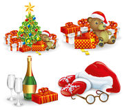 Vector. Christmas set. Royalty Free Stock Photo